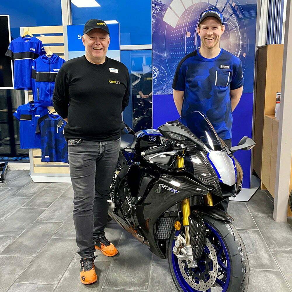 Ole Bjørn Plassen kjører Yamaha i 2021! Speed Motorcenter